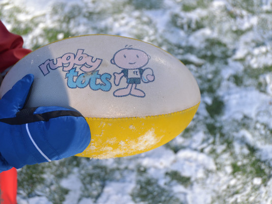 Rugbytots in the Snow!