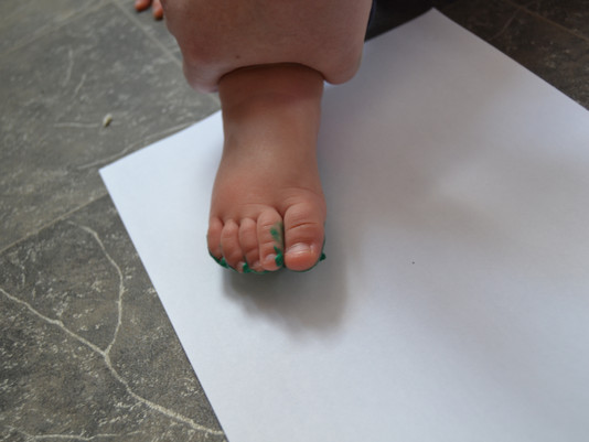 Foot painting !