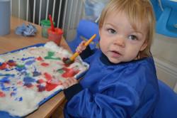 Painting on 'Snow'