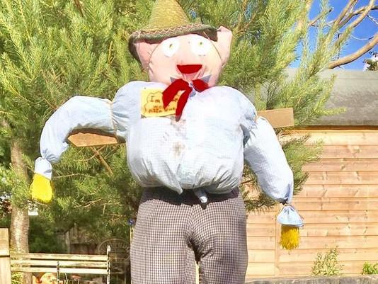 Meet Jack, our nursery scarecrow!