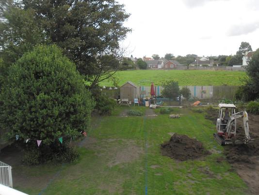 The Lawn in Progress