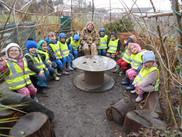 Forest School at Sticklepath School