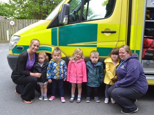 Dragonflies & Kindergarten Meet A Paramedic