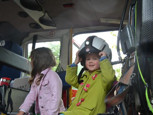 Firefighters visit St Michael's!