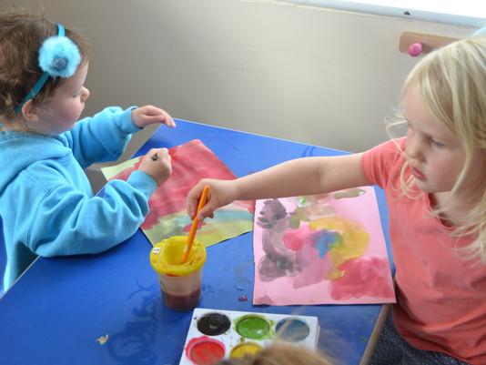 Kindergarten Enjoy New Playground