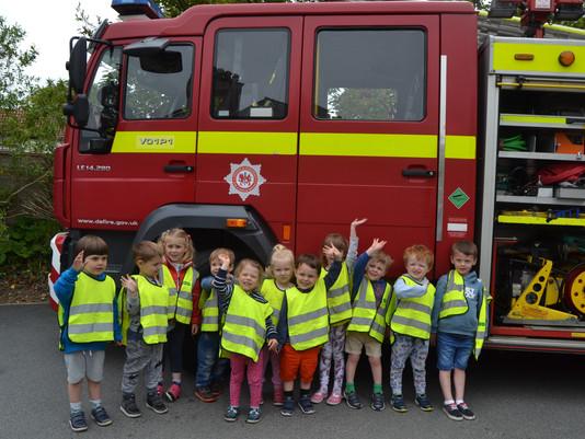 Fire Engine Visits