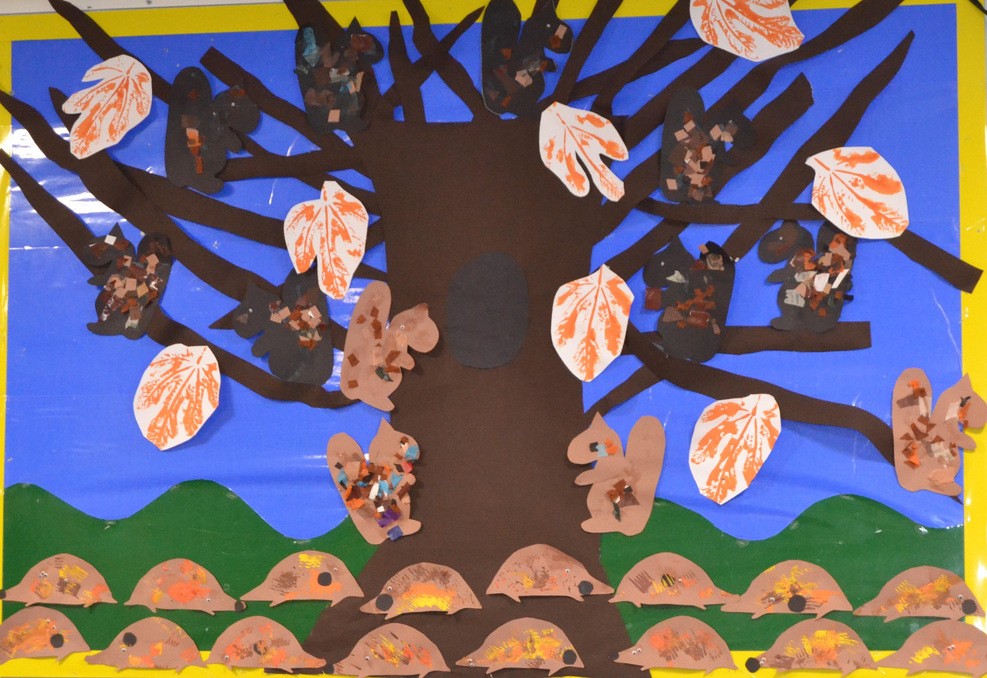 Autumn Tree Display
