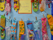 Silly Socks for Seth...Kindergarten's Display