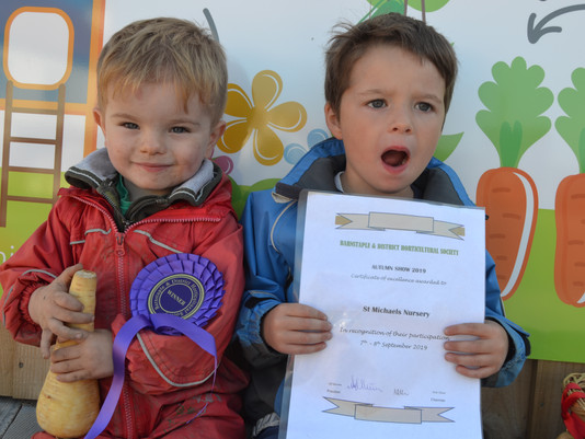 Prize Winning Vegetables