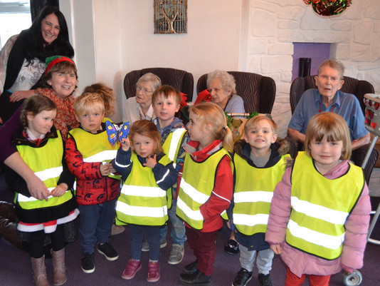 Christmas Carols at Oaklands Residential Home