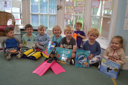 Kindergarten Save the Seas