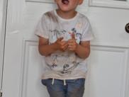 Look who has had fun at nursery!