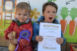 Certificate for Growing the Vegetables