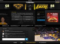 Sports Split Screen Video Player