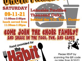 10th Annual Choir Family BBQ