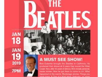 Bob Eubanks backstage with The Beatles!