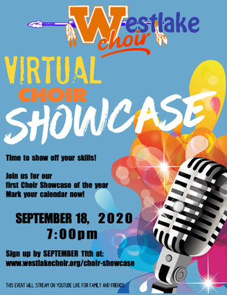 Sign Up For Our First Virtual Showcase!