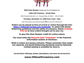 Little Calf Creamery Fundraiser