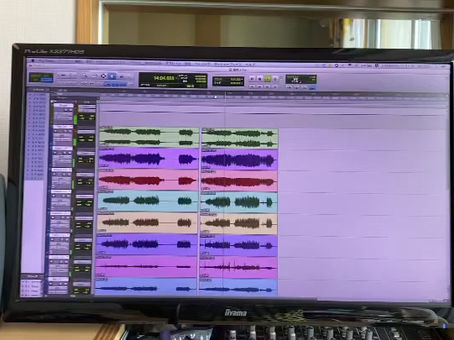 レコーディングそしてバースデイスペシャルライブ。