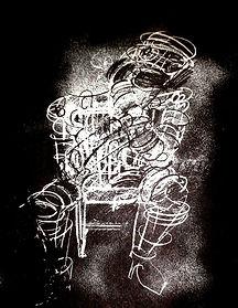 JEF BRETSCHNEIDER: 1983  ILLUSTRATION THE CORRECT SADIST