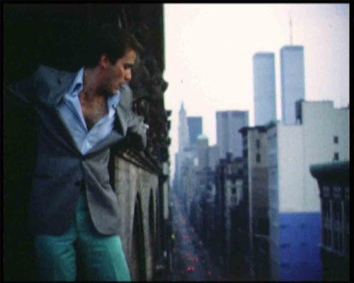 JEF BRETSCHNEIDER: MoMA 1982 FILM STILL: Jef Bretschneider in Okay Today Tommorow