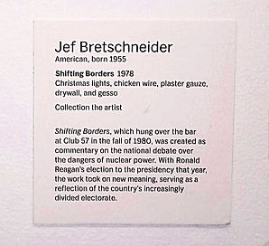 JEF BRETSCHNEIDER: 2017 MoMA CLUB 57 Artist's Placards: John Sex and Jef Bretschneider
