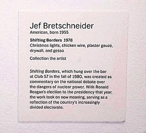 JEF BRETSCHNEIDER: 2017 MoMA CLUB 57 Artist's Placards: John Sex and Jef Bretschneider