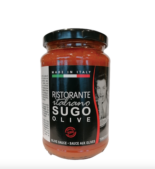 "Sauce ""Ristorante Italiano"" Tomates/Olives 300ml"