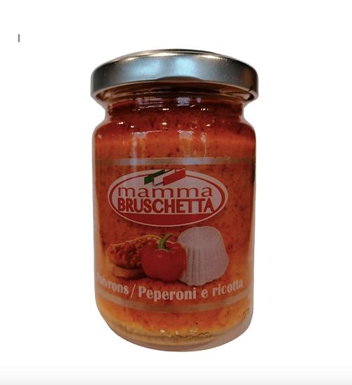 Tartinade Mamma Bruschetta Peperoni & Ricotta 130g