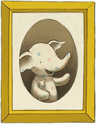 little elliot and mouse in a portrait