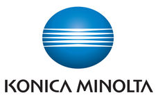 Konia Minolta logo and name