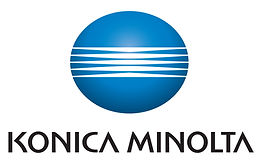 Konia Minolta logo and name