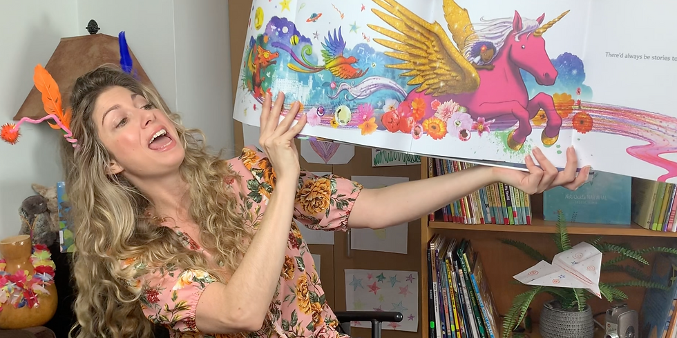 Interactive Story Time with Books for Kids