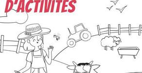 Un cahier de vacances pour découvrir l'agriculture en Vendée pendant les vacances