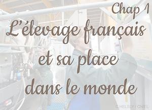 Chapitre 1 Farmpedia les chiffres clés de l'élevage et le contexte en France epour les enseignants de lycée et de collège en recherche de ressources pédagogiques pour enseigner l'agriculture et l'élevage Europe et dans le monde