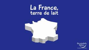 La France, terre de lait - la Filière laitière française en chiffres [vidéo]