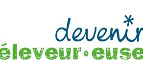 #DevenirEleveur, site de renseignement et d'orientation