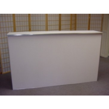 6ft White Bar