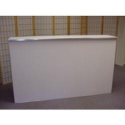 6ft White Bar