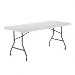 6ft folding banquet table