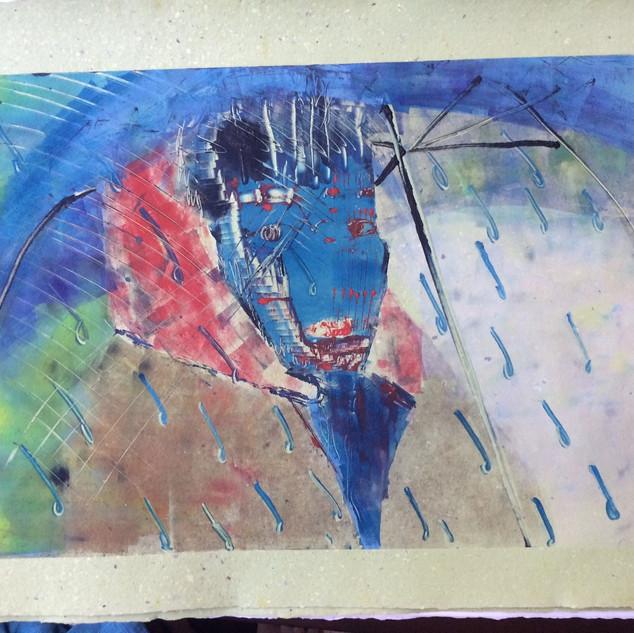 In the Blue Rain