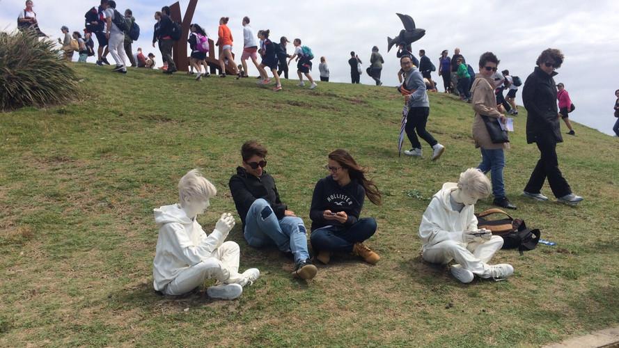 Fabio Pietrantonio sculpture by the sea