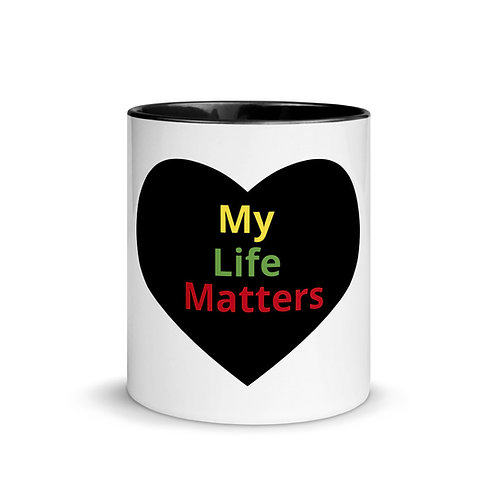 My Life Matters Mug with Color Inside