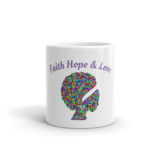 Faith Hope & Love Mug