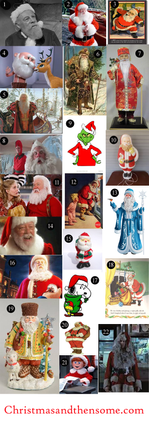 Who was your Santa growing up?