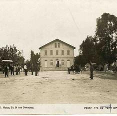 שיקום בית הכנסת בראשון לציון