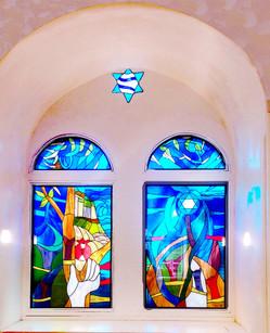 ויטראז'ים במוזיאון הידידות בירושלים