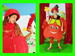 התפוח והנר מוצאים חבר