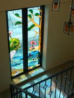 דלת ויטראז בשעות הבוקר בבית בגליל