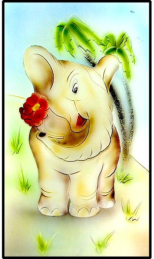 פיל פילון בבית קטן בערבה